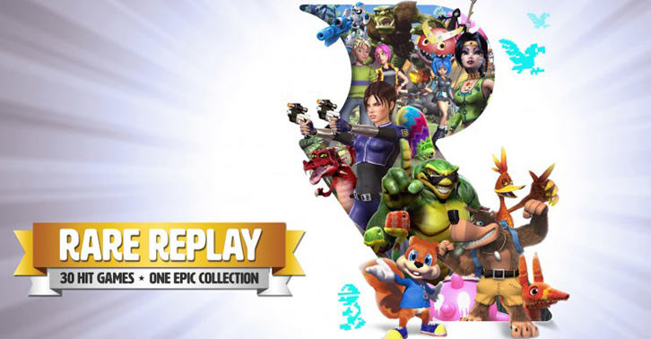 UNILAD replay34 Rare Replay Tops UK Gaming Charts After Developers Seventeen Year Lull