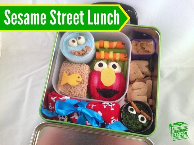 UNILAD seasame street7 This Awesome Dad Makes The Best School Dinners Ever