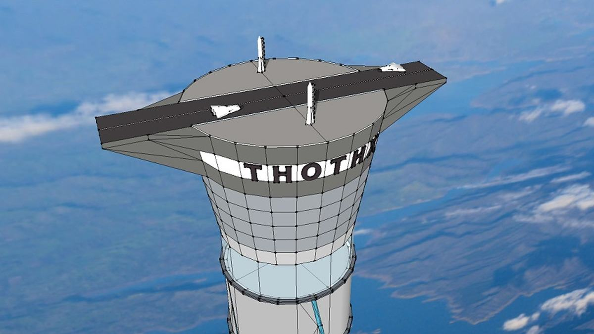 Incredible Inflatable Space Elevator Could Lift People 12 Miles Above The Earth UNILAD space elevator 24