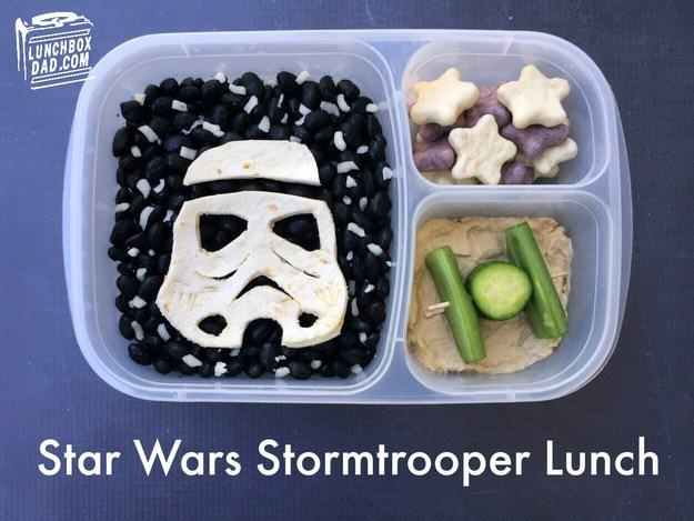 UNILAD star wars5 This Awesome Dad Makes The Best School Dinners Ever