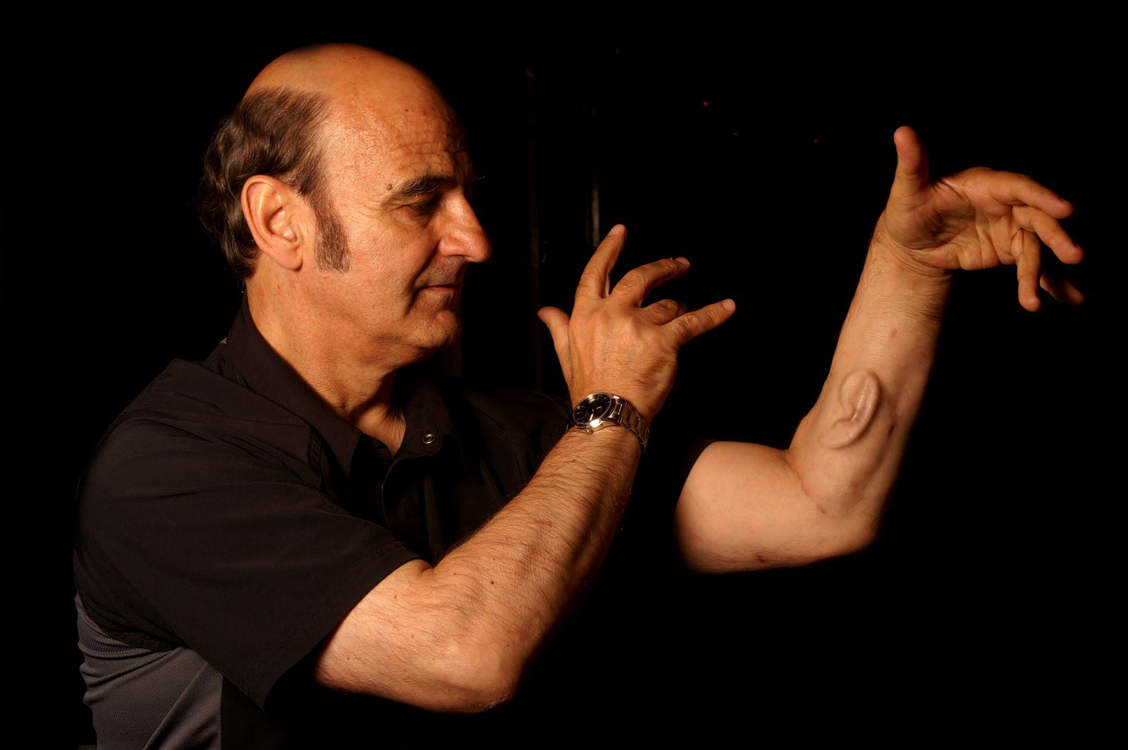 UNILAD stelarc6 Professor Grows Ear On His Arm That Connects To The Internet, Yep