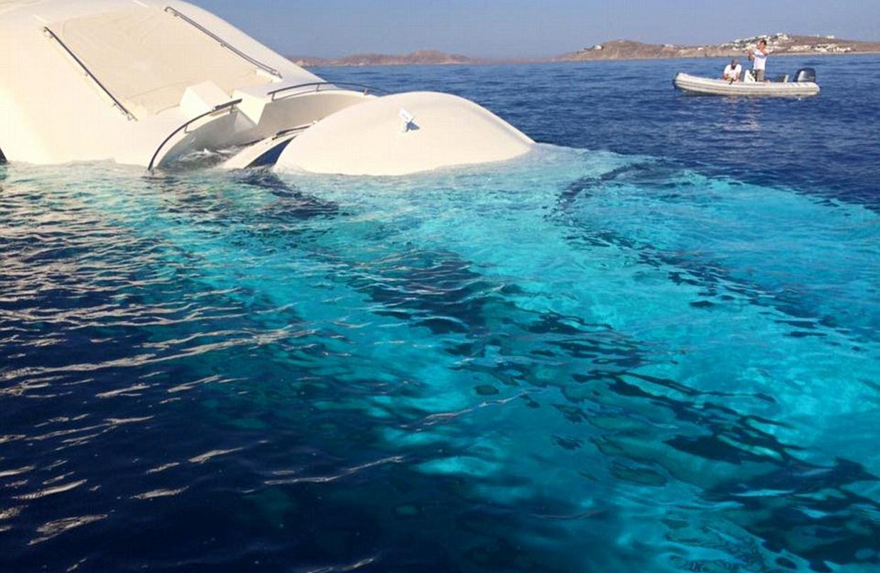 UNILAD yacht sink 14 This Incredible £4 Million Yacht Just Sunk And Is Now Destroyed