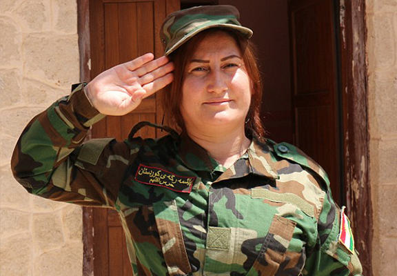 Yazidi Women Form All Female Fighting Unit To Take On ISIS UNILAD yazidi girls WEB 23