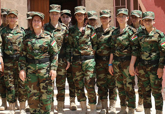 Yazidi Women Form All Female Fighting Unit To Take On ISIS UNILAD yazidi girls WEB8