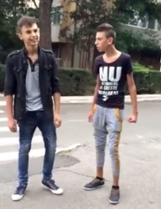 Bully1 Skinny Bully Tries To Intimidate Kid, Does Not Expect What Happens Next