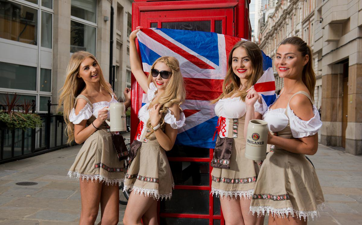 Oktoberfest Girls Old Broad St St Mary Axe Paul Griffiths Photography 10 resized Oktoberfest Is Coming To London And It's Set To Be Awesome