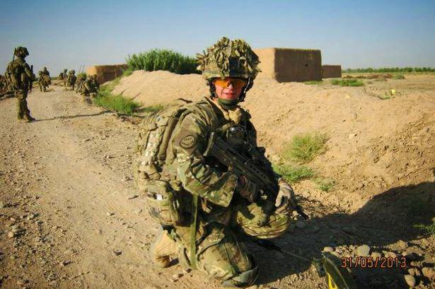 PAY Soldier Dave Curnow 3 Young Soldier Survived Afghanistan Only To Be Killed On Streets Of His Home Town