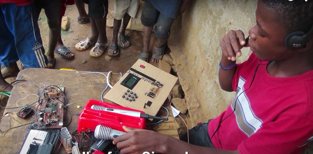 Screen Shot 2015 09 29 at 01.14.22 15 Year Old Inventor From Sierra Leone Wows M.I.T Engineers