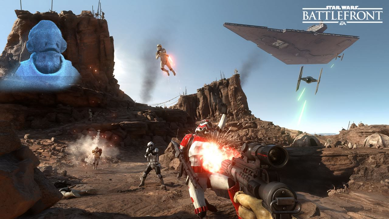 UNILAD 16045458894l5 Star Wars Battlefront Unveils New Information For Drop Zone Mode