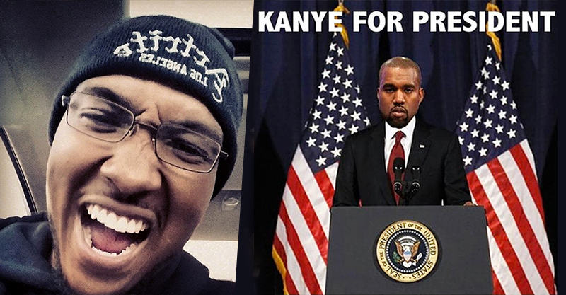 This Student Bought KanyeForPresident.com Five Months Ago UNILAD 181
