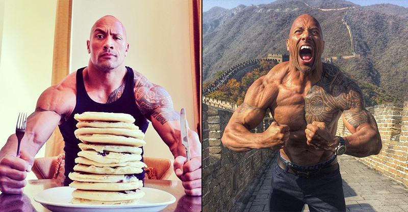 UNILAD 244 Why The Rocks Instagram Shits On Every Other Celebrity Instagram