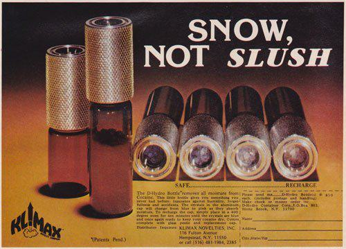 UNILAD 70s66 Shameless Cocaine Accessories Show The 70s Were A Helluva Time To Be Alive