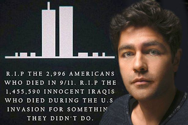 UNILAD Adrian Grenier reported 911 2 post main5 Entourage Star Adrian Grenier Remembers Innocent Iraqis In Controversial 9/11 Instagram Post