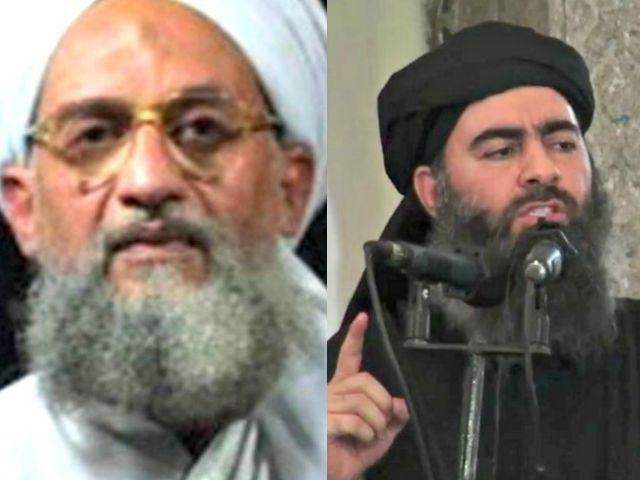 Terror Group Al Qaeda Declares War On Islamic State UNILAD Al Zawahiri L and Al Baghdadi AP Photos 640x4806