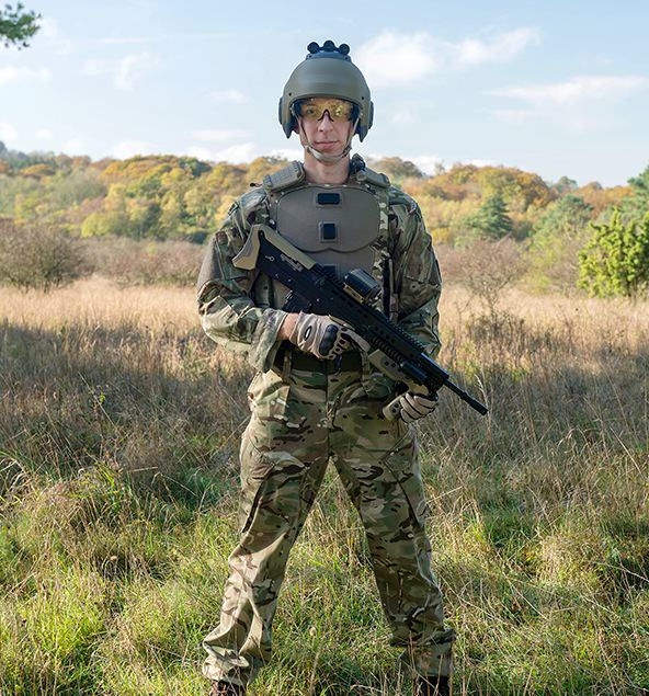 UNILAD DSTL3 Ministry Of Defence Unveils New Gadgets For British Soldier Of Tomorrow