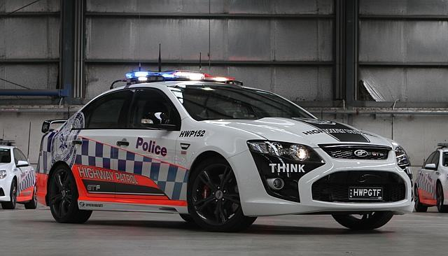 UNILAD Ford GTF8 640x366 Australian Police Now Have A $450,000 McLaren 650s Supercar