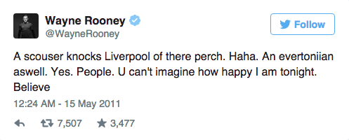 UNILAD Screen Shot 2015 09 09 at 15.02.597 Wayne Rooneys Twitter Account Is An Absolute Goldmine