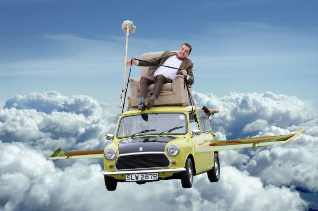 UNILAD bean chitty chitty bean bang7 640x426 After Parading Around On His Car Mr Bean Gets Photoshopped