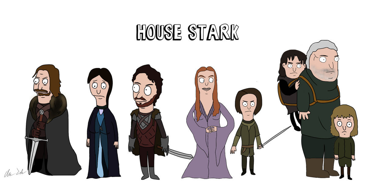 Someone Has Drawn Game Of Thrones Characters In The Style Of Bobs Burgers UNILAD burg15