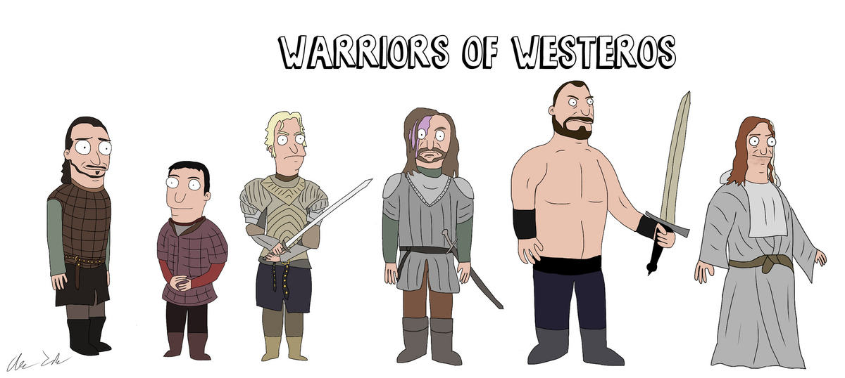 Someone Has Drawn Game Of Thrones Characters In The Style Of Bobs Burgers UNILAD burg63