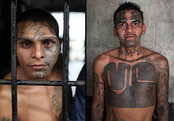 UNILAD el salvador prison WEB 48 The El Salvador Gang Members So Feared That They Police Their Own Jail