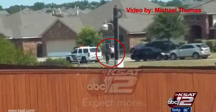 Shocking Video Shows Two Texas Deputies Shooting Man With Hands Up UNILAD flores shooting WEB 14