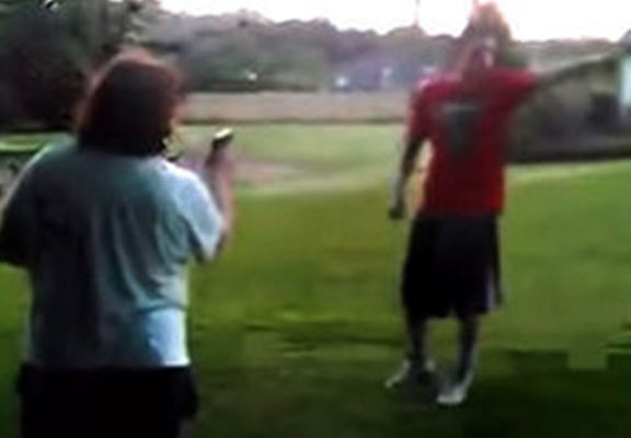 UNILAD gunmom web4 Mother Caught Pulling Gun On Kids Bullying Her Son In Park