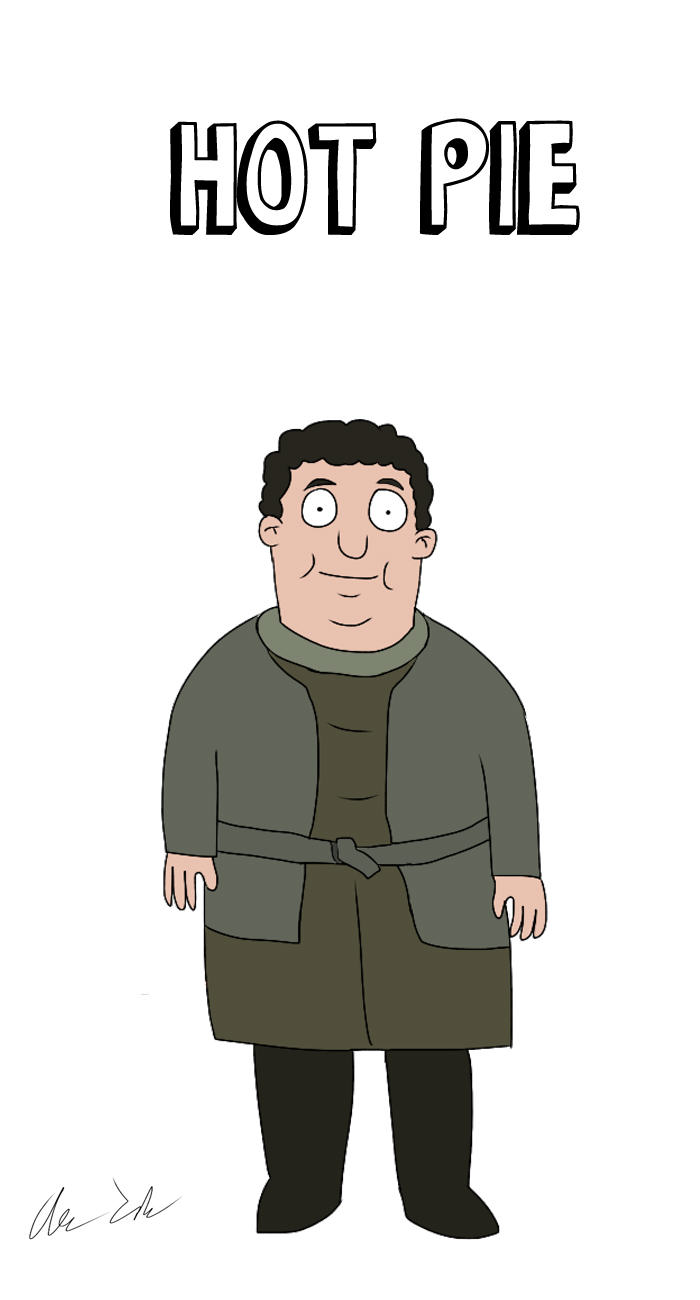 Someone Has Drawn Game Of Thrones Characters In The Style Of Bobs Burgers UNILAD house74