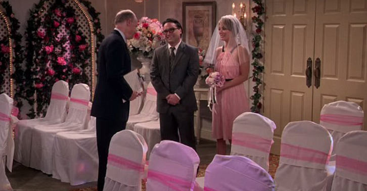 UNILAD leonard penny WEB 14 New Set Photos Released Of Leonard And Pennys Wedding On The Big Bang Theory