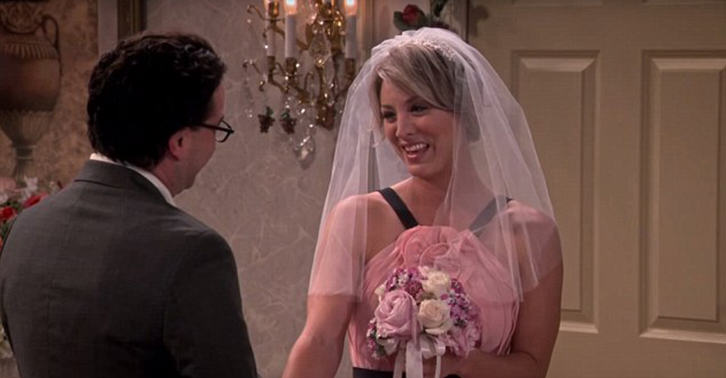 UNILAD leonard penny WEB 26 New Set Photos Released Of Leonard And Pennys Wedding On The Big Bang Theory