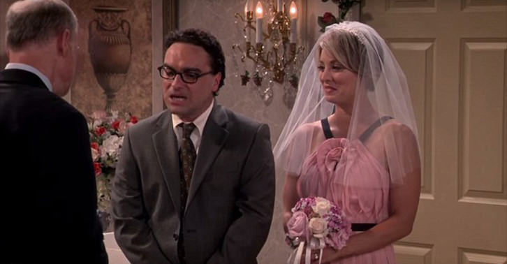 UNILAD leonard penny WEB 35 New Set Photos Released Of Leonard And Pennys Wedding On The Big Bang Theory