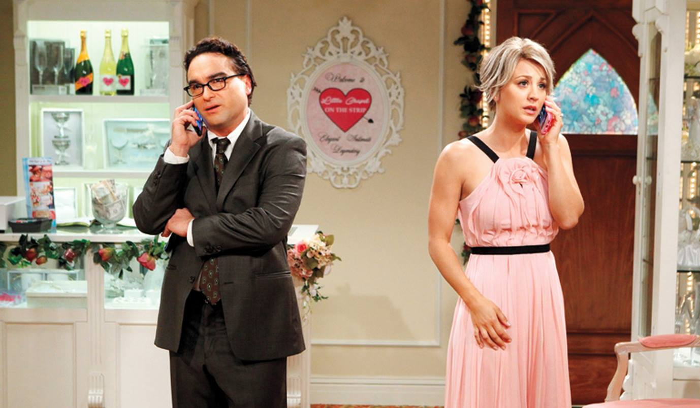 UNILAD leonard penny WEB 44 New Set Photos Released Of Leonard And Pennys Wedding On The Big Bang Theory