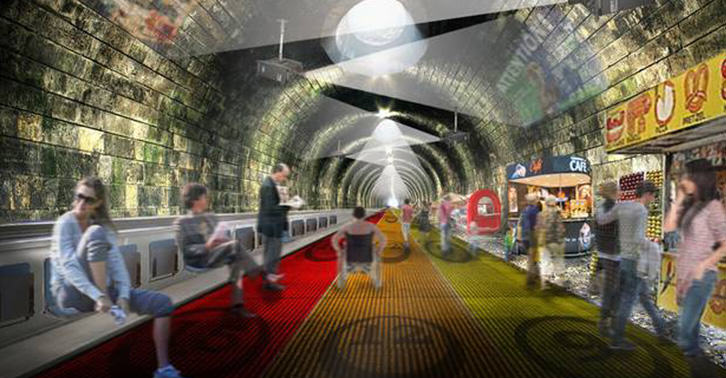 Architects Unveil Plan To Turn Circle Line Into A Giant Travelator UNILAD london36
