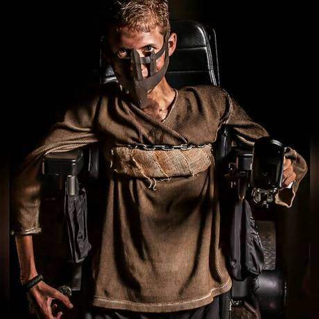 UNILAD mad max wheelchair cosplay bloodbag ben carpenter 34 Disabled Lad Turns His Wheelchair Into Badass Mad Max Cosplay