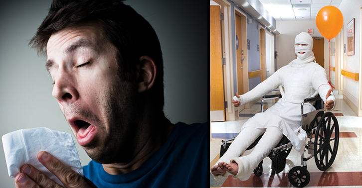 These Are The Most Popular Excuses For Calling In Work Sick UNILAD sickie26