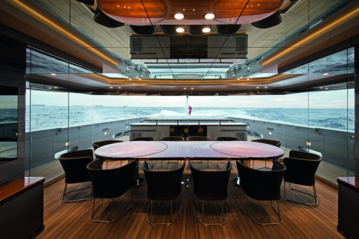 UNILAD super yacht 67 Look Inside This £57 Million Eco Friendly Super Yacht