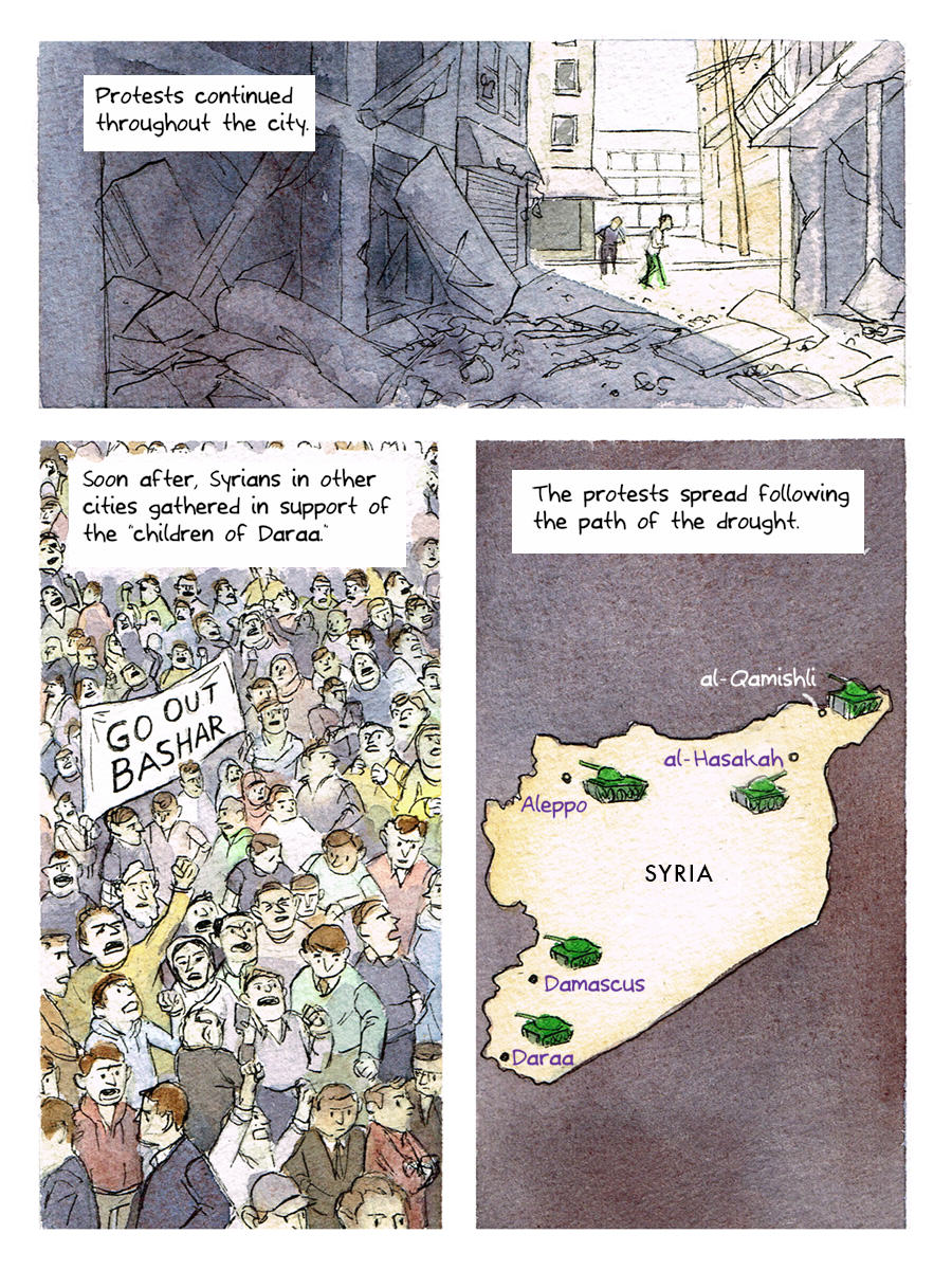This Cartoon Succinctly Explains The Background To The Syrian Conflict UNILAD syria cartoon 86