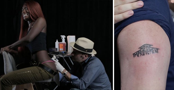 UNILAD tattoo roulette 42 People Play Tattoo Roulette, Get Some Pretty Sh*tty Tattoos