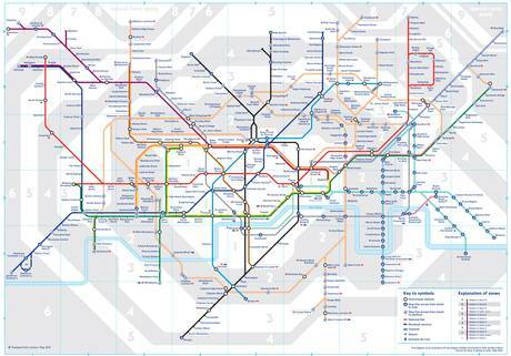 UNILAD tubemap28 TfL Reveal A Secret Geographically Accurate Tube And Rail Map For London