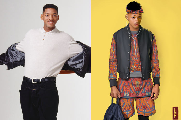 UNILAD will NBCLeland Foster7 What The Fresh Prince Cast Would Look Like In 2015
