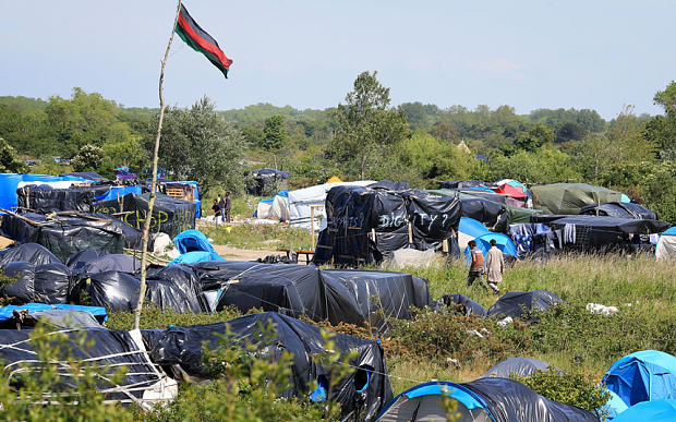 Banksys Dismaland Theme Park To Be Used As Refugee Shelter calais migrant cam 3349902b PA