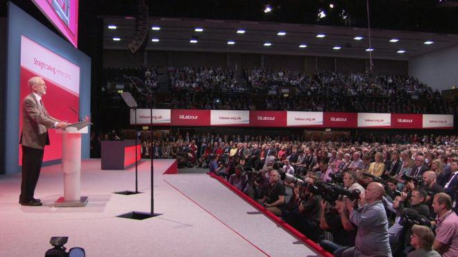 corbyn speech 2 Jeremy Corbyn Claims David Cameron Is The Real Security Risk To Britain