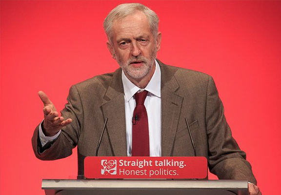 corbyn speech WEB1 Jeremy Corbyn Claims David Cameron Is The Real Security Risk To Britain