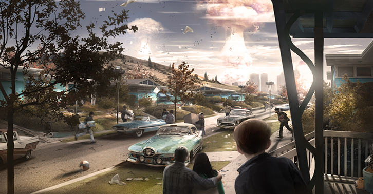 falloutfacebook1 Fallout 4s Composer Playing The Main Theme Will Give You Goosebumps