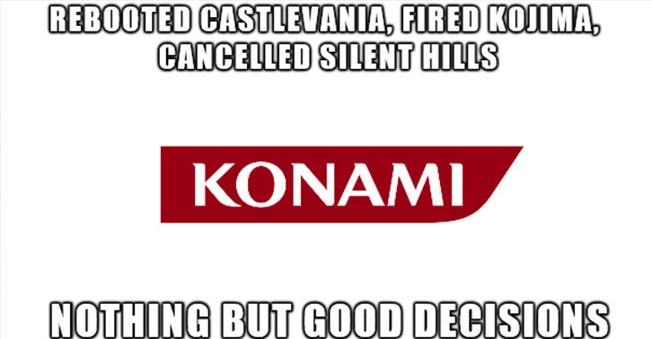 Konami Speaks Out Against Claims It Will Stop Making Console Games konami