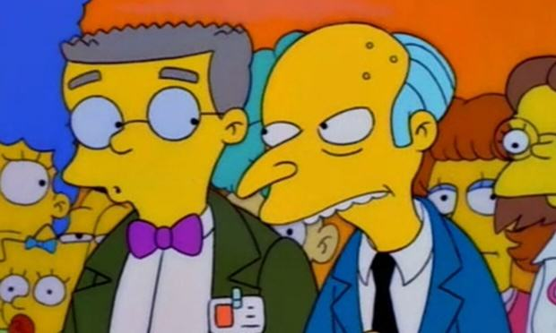The Simpsons Smithers Finally Set To Come Out As Gay This Season