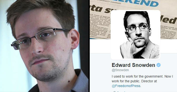 snowden twitter FB Edward Snowden Joined Twitter And Sent The Perfect First Tweet