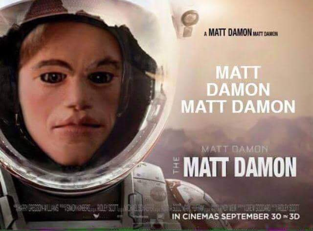 UNILAD CCoWUQ312 Some Heroes Have Made A GoFundMe To Rescue Matt Damon From Mars