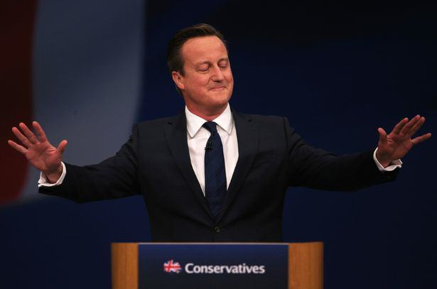 UNILAD David Cameron Addresses The 2015 Conservative Party Autumn Conference dan kitwood6 Cameron Makes Dodgy Sex Joke And Slams Corbyn For Hating Britain