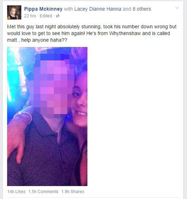 UNILAD Pippa McKinney3 Girl Behind Facebook Cheat Appeal Tells Her Side Of The Story